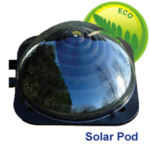 he eco friendly Solar Pod swimming pool heater