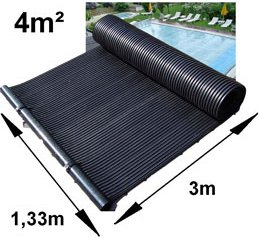 Solar Matting swimming pool heater dimensions example